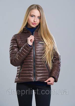 Куртка женская №5 (шоколад), фото 2