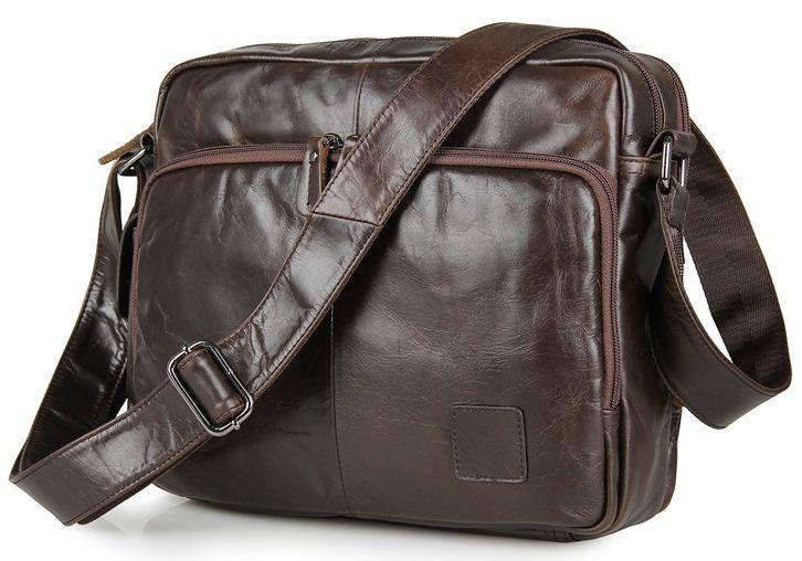 Сумка мужская Vintage 14369 коричневая
