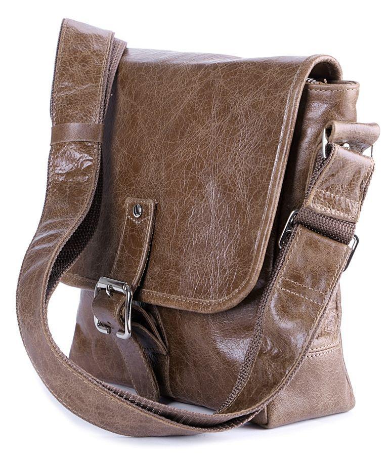 Сумка SHVIGEL 00918 коричневая