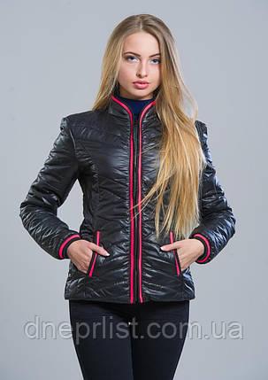 Куртка женская №7 (чёрный), фото 2
