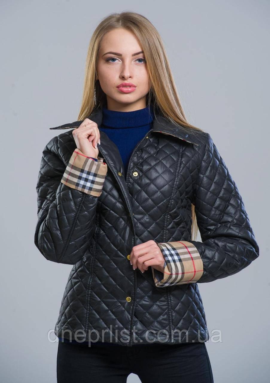 Куртка женская №9 (чёрный)