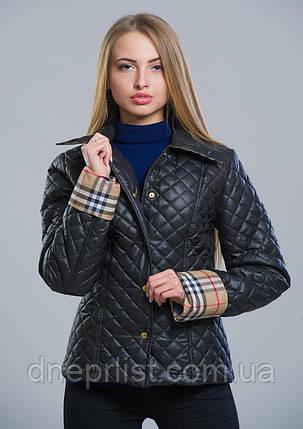 Куртка женская №9 (чёрный), фото 2