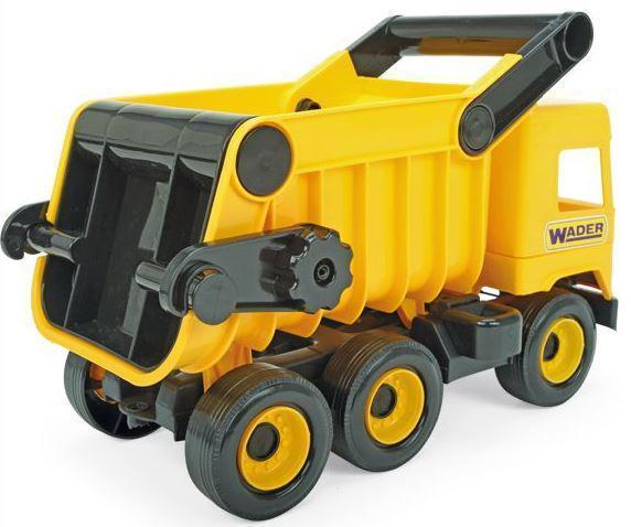 "Авто ""Middle truck"" самосвал (желтый) в коробке 39490"