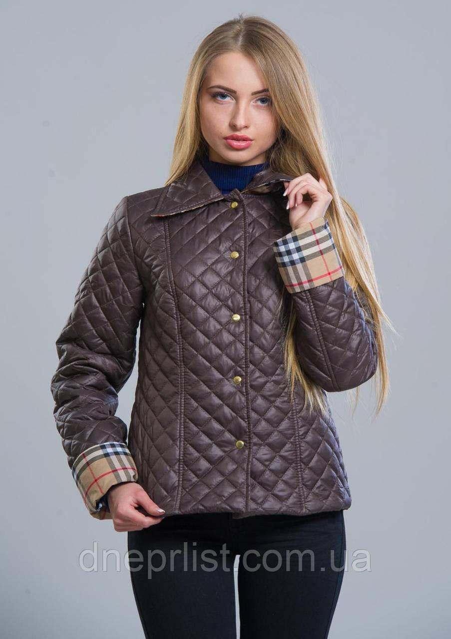 Куртка женская №9 (шоколад)