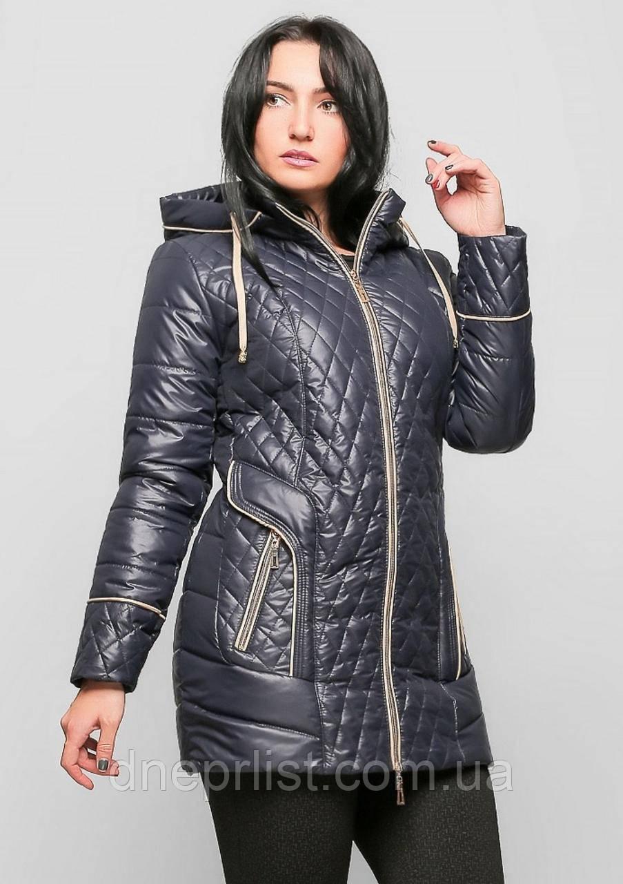 Куртка женская №12 (синий)