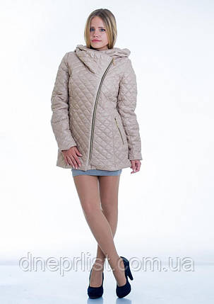 Куртка женская №14 (бежевый), фото 2