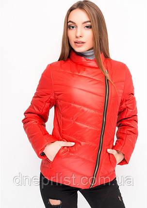 Куртка женская №17 (красный), фото 2