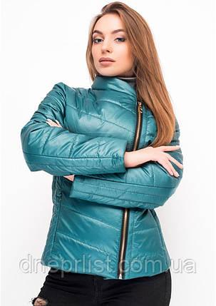 Куртка женская №17 (зелёный), фото 2