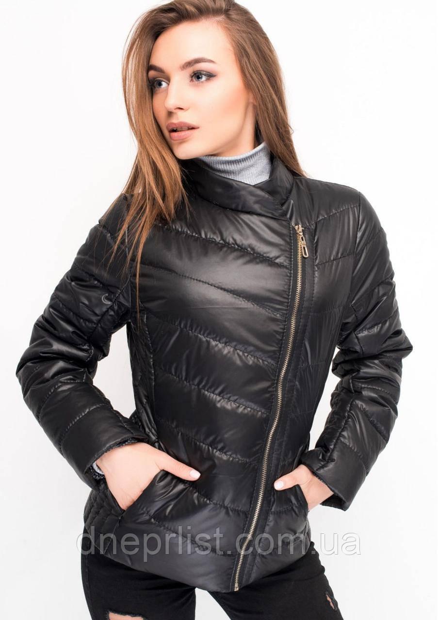 Куртка женская №17 (чёрный)