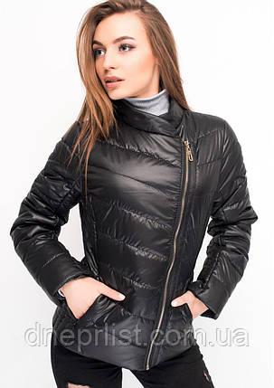 Куртка женская №17 (чёрный), фото 2