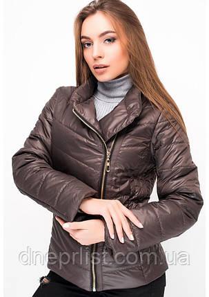 Куртка женская №17 (шоколад), фото 2