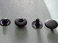 Кнопка 12.5 мм металлическая (50 штук)