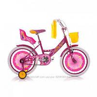 "Детский велосипед Azimut Girls 16"""