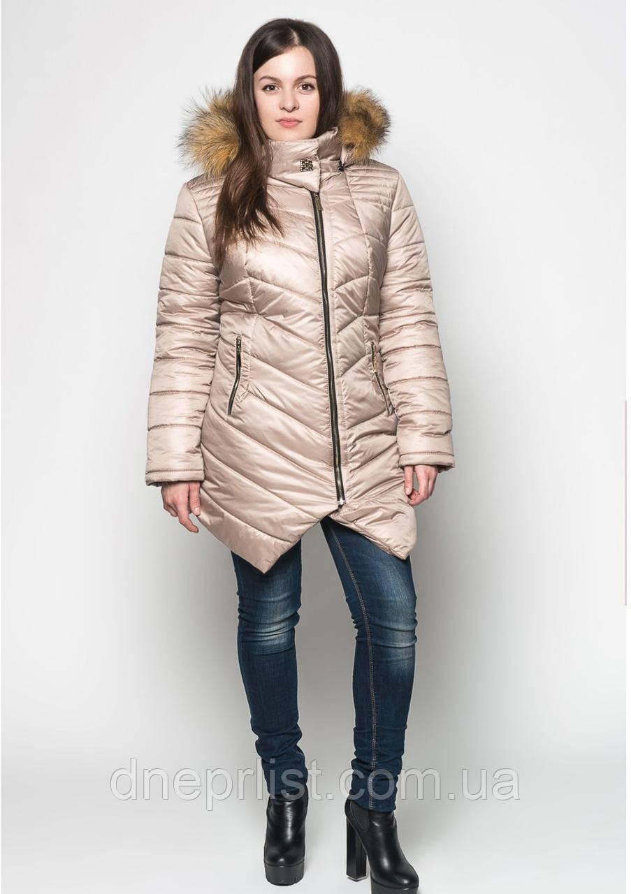 Куртка женская №19 (бежевый)
