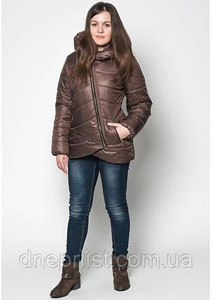 Куртка женская №20 (шоколад), фото 2