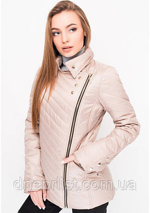 Куртка женская №21 (бежевый), фото 2