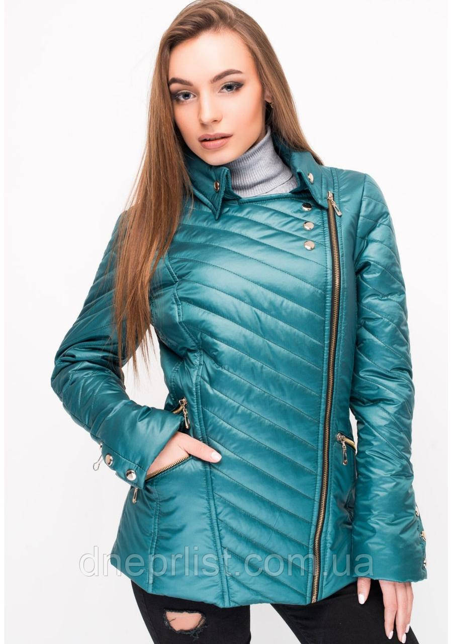 Куртка женская №21 (зелёный)
