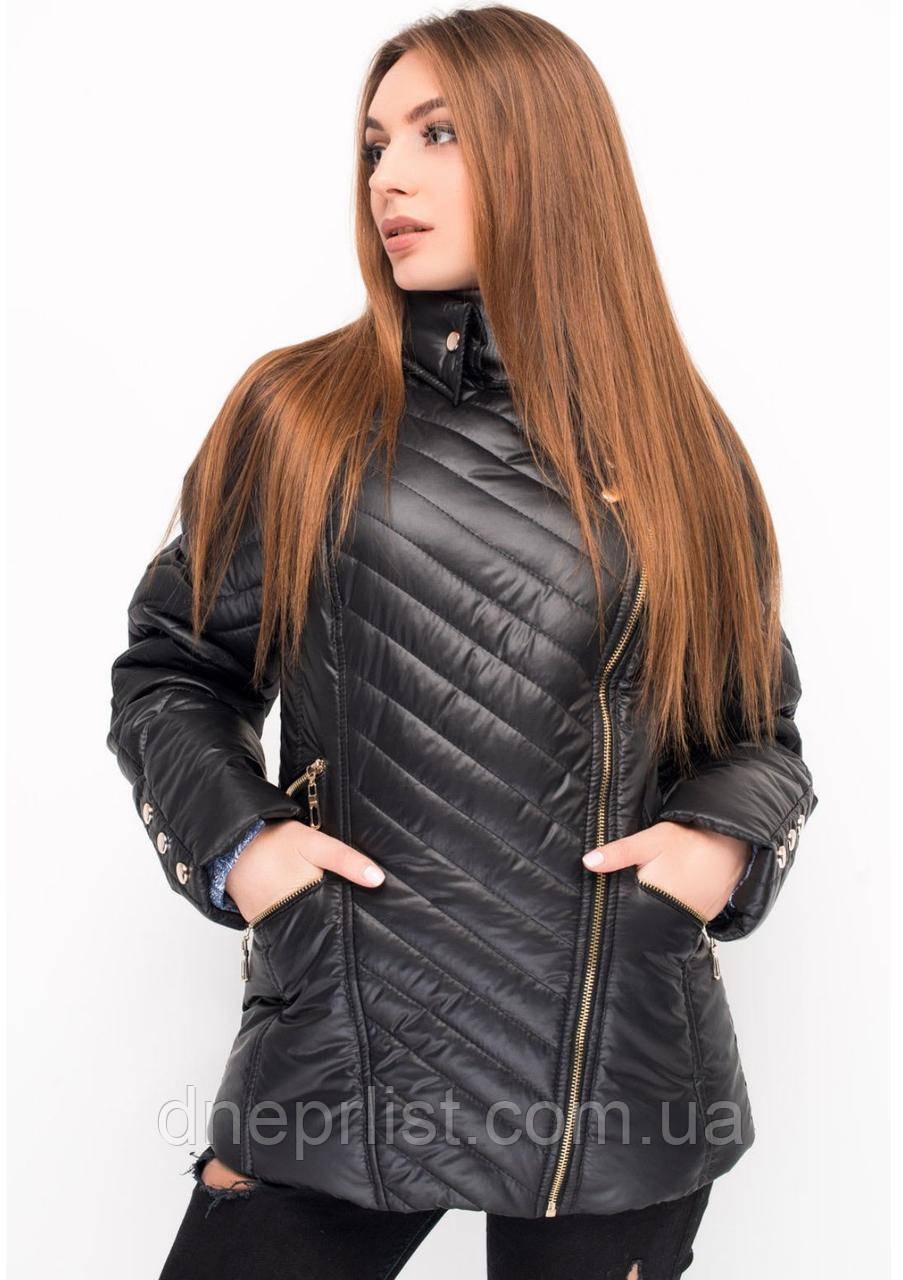 Куртка женская №21 (чёрный)