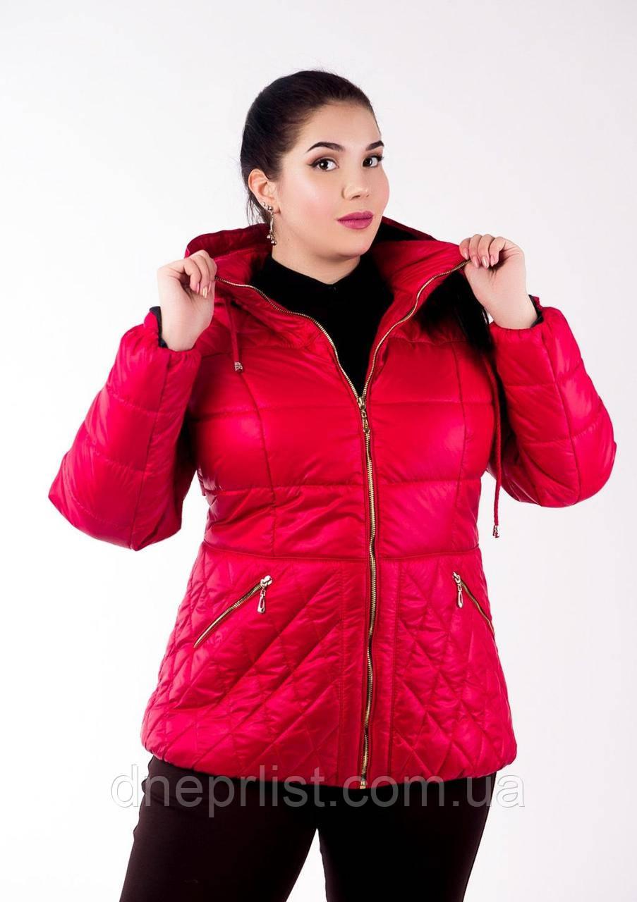 Куртка женская №27 (красный)