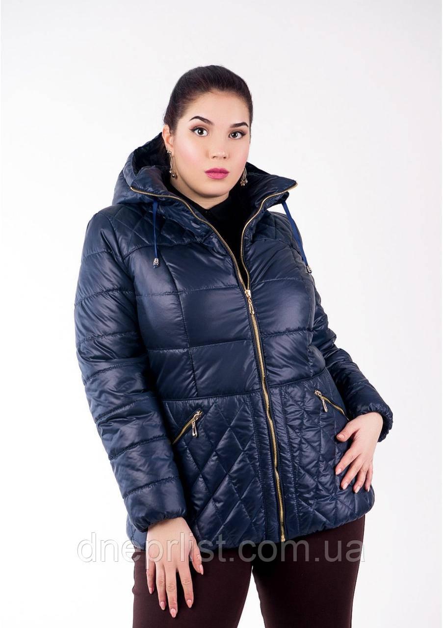 Куртка женская №27 (синий)