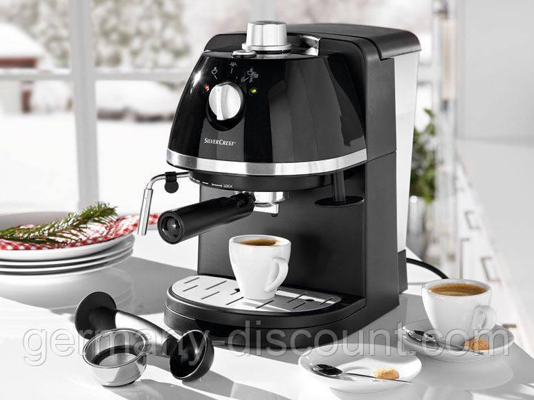 SilverCrest SEM 1100-Эспрессо кофеварка (Германия) Сток