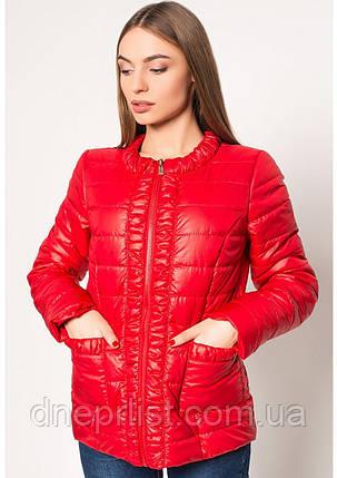 Куртка женская №29 (красный), фото 2