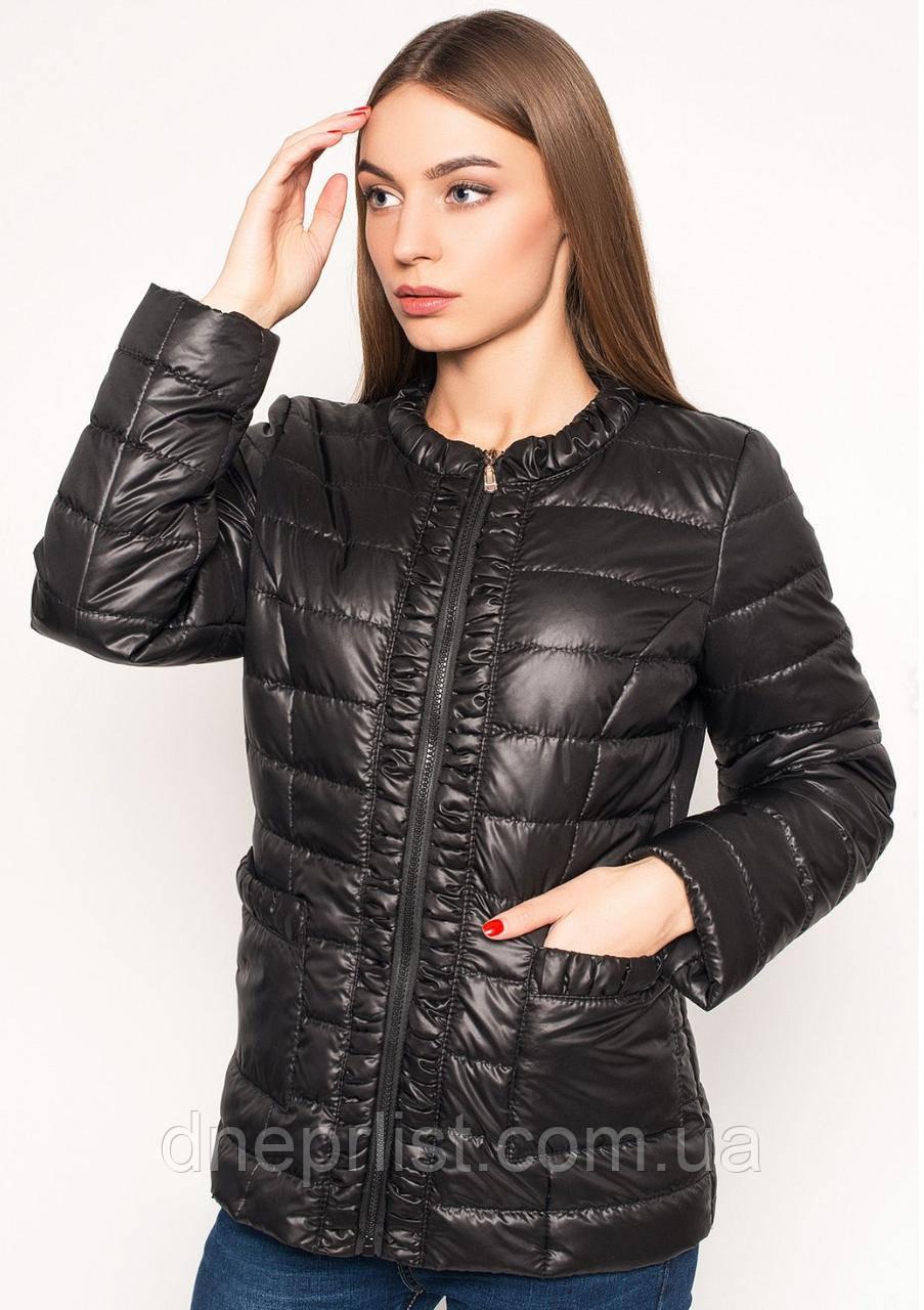 Куртка женская №29 (чёрный)