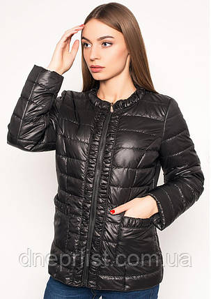 Куртка женская №29 (чёрный), фото 2