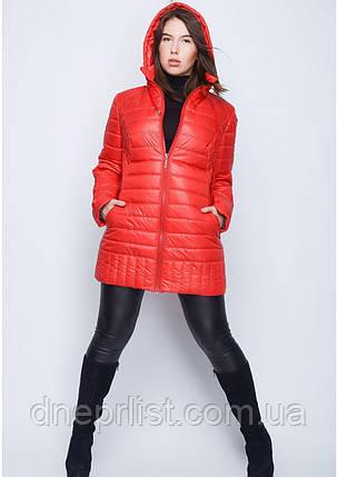 Куртка женская №34 (красный), фото 2