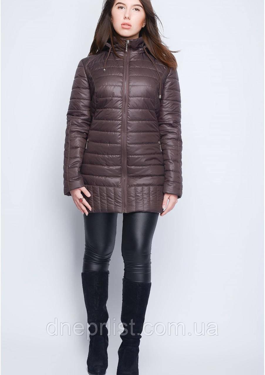 Куртка женская №34 (шоколад)