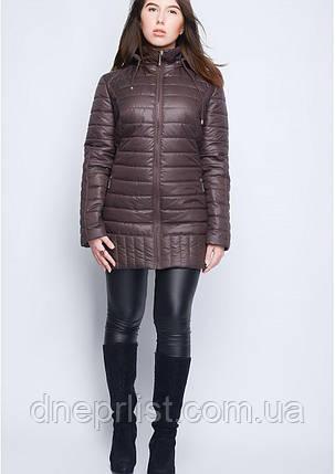 Куртка женская №34 (шоколад), фото 2