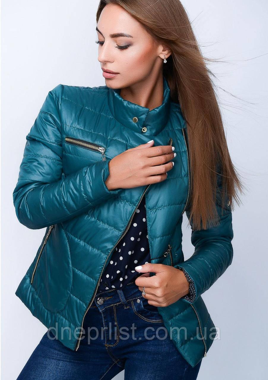 Куртка женская №35 (зелёный)