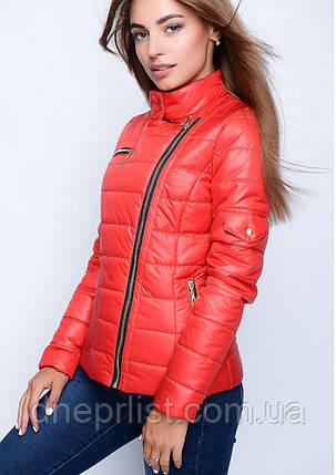 Куртка женская №35 (красный), фото 2