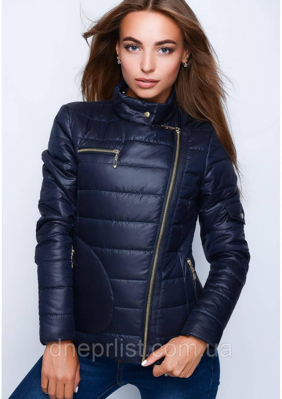 Куртка женская №35 (синий)