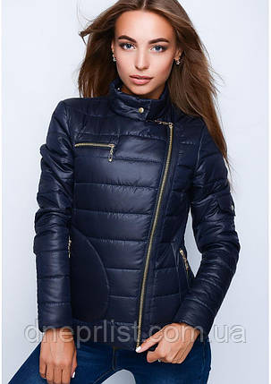 Куртка женская №35 (синий), фото 2