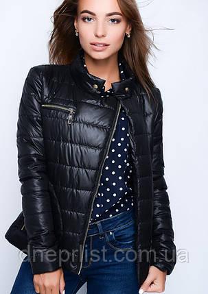 Куртка женская №35 (чёрный), фото 2