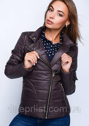 Куртка женская №35 (шоколад), фото 2