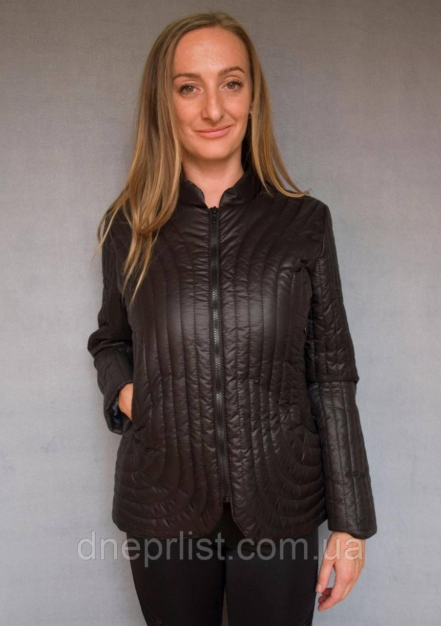 Куртка женская №36 (чёрный)