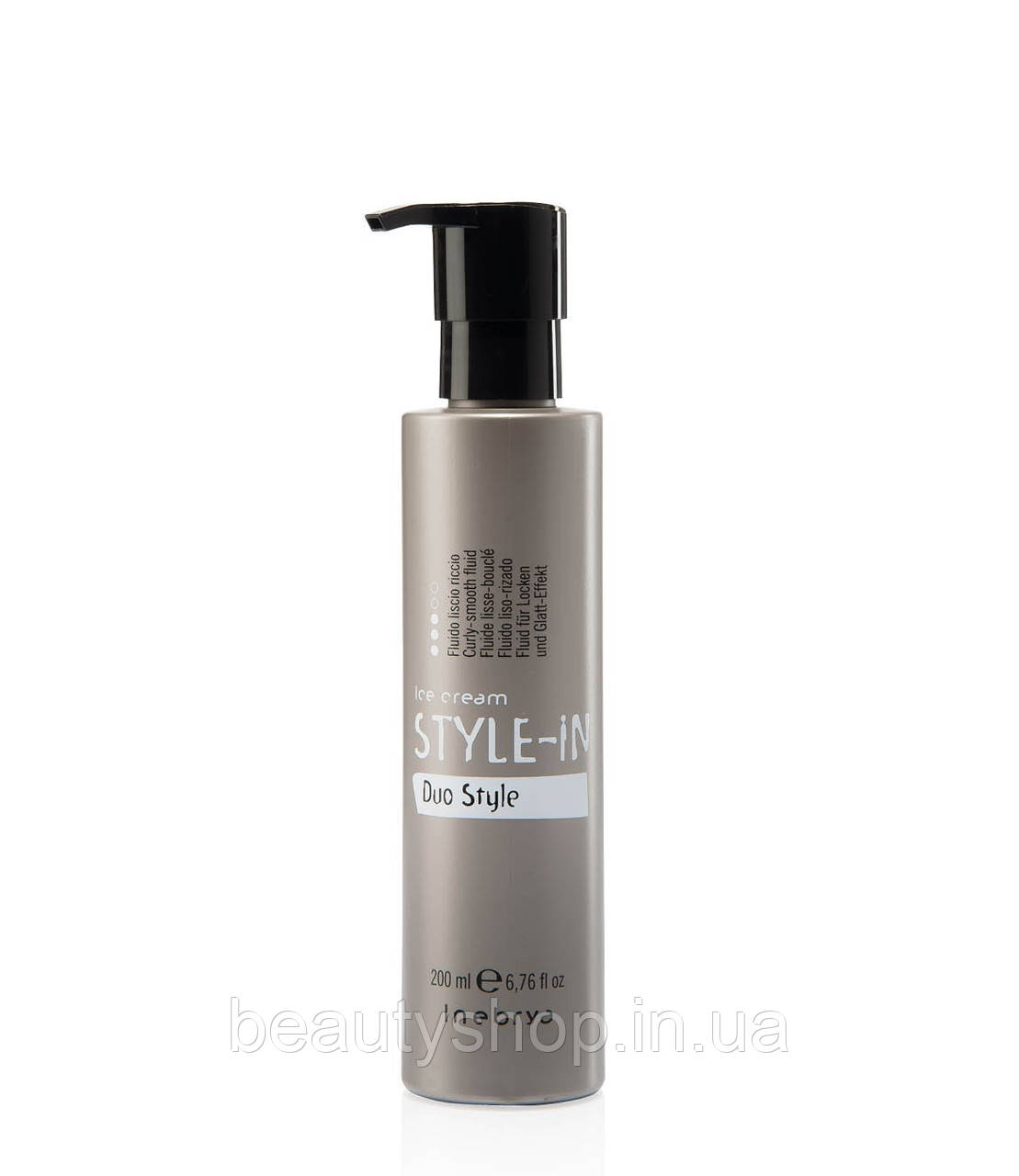 Флюид для завивки или выпрямления волос Inebrya Duo style 200ml.