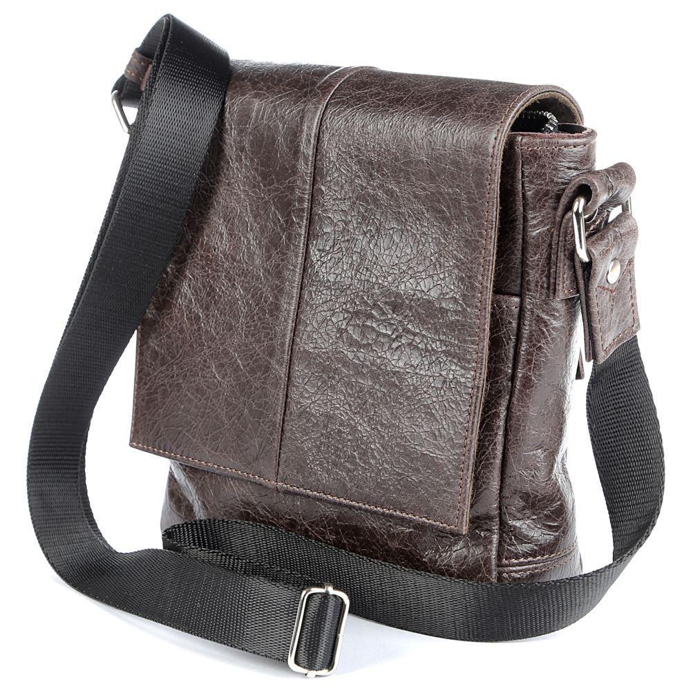 Сумка SHVIGEL 00979 коричневая