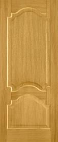 Межкомнатные деревянные двери  Терминус №8 Премьера дуб тонированный