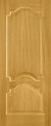 Межкомнатные деревянные двери  Терминус №8 Премьера дуб тонированный, фото 2