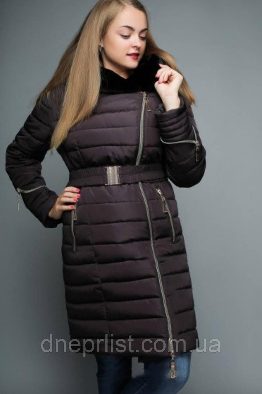 Куртка женская №47 (баклажан)