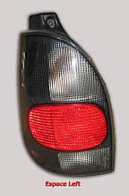 Ліхтар задній Renault Espace лівий чорний 6025301101 б/у
