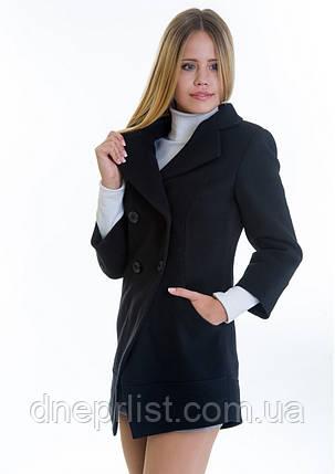 Пальто женское №16 (черный), р. 40-42, фото 2