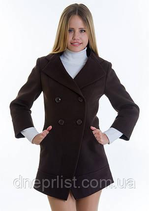 Пальто женское №16 (шоколад), р 40, фото 2