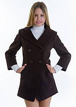 Пальто женское №16 (шоколад), р 40