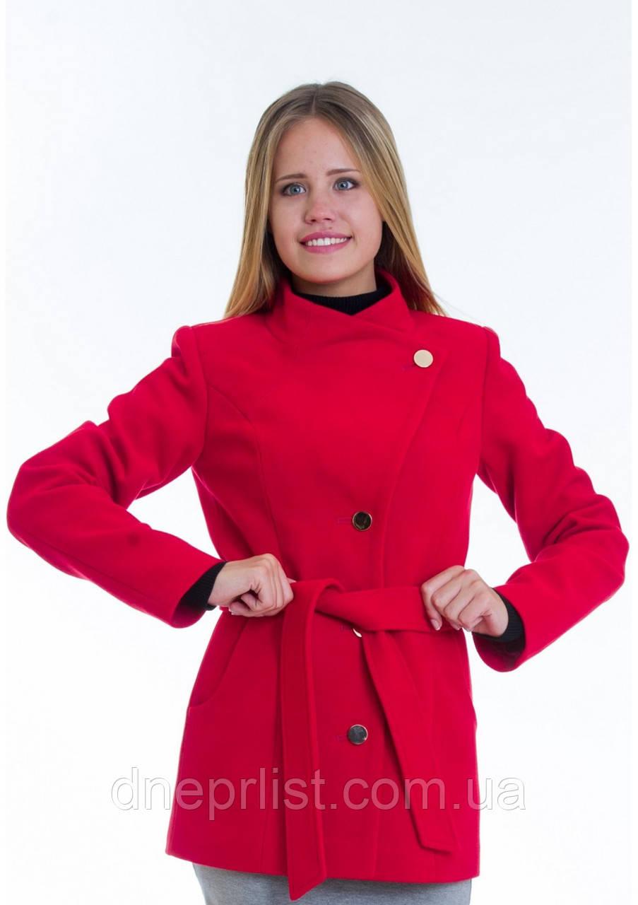 Пальто женское №13 (красный)