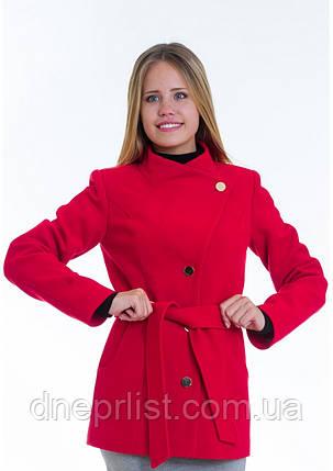 Пальто женское №13 (красный), фото 2