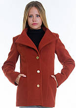 Пальто женское №13 (рыжий)